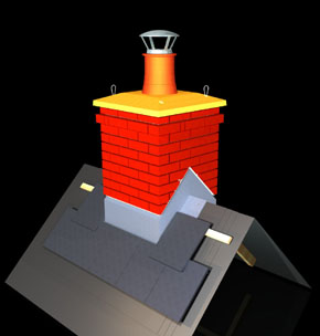 image of fabricated chimney